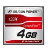 Compact Flash 4Gb Silicon Power 133x
